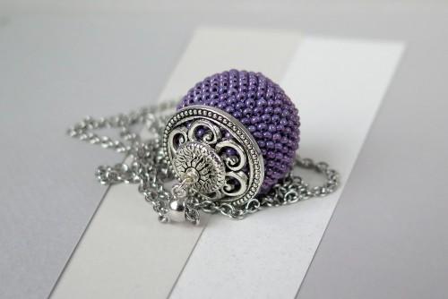Violetinis pakabukas burbulas